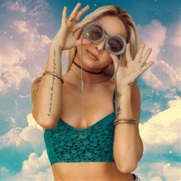 unsplash clouds freetoedit glasses girl photography people fullbodyshot fullbodygirl