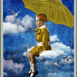 dreamer srcyellowumbrella yellowumbrella freetoedit
