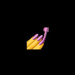 emoji emojis iphoneemoji iphoneemojis iphone emojiiphone nail nails nailsemoji nailpolishemoji slay nailpolish cute freetoedit
