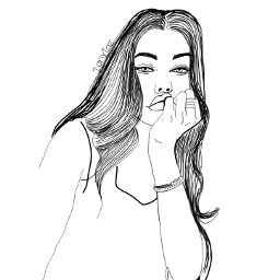 freetoedit madisonbeer outline colorme