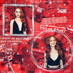 freetoedit madelainepetsch madelame red shapeedit byqweluna dontsteal lunacontest qweluna