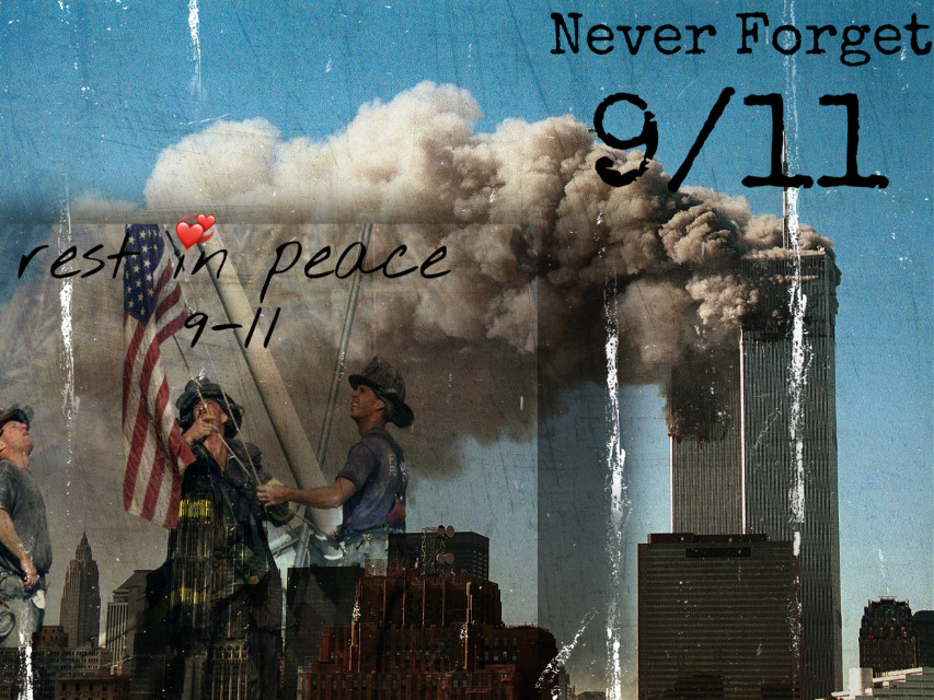 Thank you to all the people who sacafriced their lives to save others. Wether that was a firefighter or an office worker, thank you. #september11 #neverforget