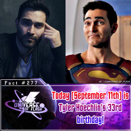 tylerhoechlin clarkkent superman supermanandlois arrowverse dccomics thecw happybirthday