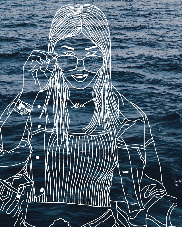 #heypicsart #outline #cool #tumblr #tumblrgirl #girl #nice #beautiful #awesome #wonderful #outlines #outlineedit #outlinedrawing #outlineart #outlinestumblr #picsart #picsartedit #picsartapp #picsartediting #madewithpicsart #sea