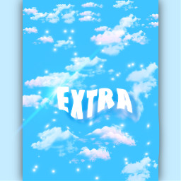 extra clouds blue