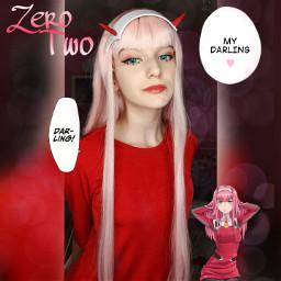 darlinginthefranxx zerotwo 002 darlinginthefranxxcosplay zerotwocosplay 002cosplay cosplay darlingthefranxx darlingthefranxxcosplay 02 02cosplay freetoedit