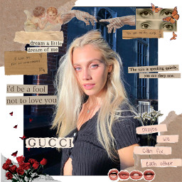 model edit replay replayedits stickers aesthetic vintage tryit followme cool pretty beautiful models frame newspapers freetoedit