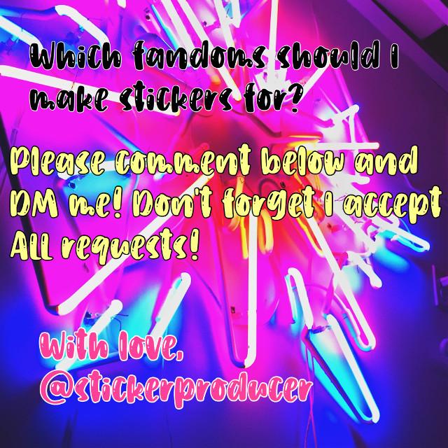 Hi! I've run out of ideas! 😂 I need your help! What stickers do you want me to make?  Dm me and comment which stickers I should make!  Thank you! - @stickerproducer     Go follow @dixcharlie_edits  @star_107  @iceedamelio  @crunchy_bb_legs  @minapinna4  @xxxfanedits101xxx  @adorablechrisevans  @angel_3407  @likeahoestage  @aesthetic_vibzzz  .       Taglist  @tvd_lover186 @mayarhesham011 @dieuwke_geudens @sugarysweetx @blucleverwolf @emmeheick @caramelbru1ee @themusicalmarauder @mahant2016 @cazterjames6 @sarahalbane1922 @izabeltodorova12 @thegryffindorllama @editsshows @ari_berri @hey_its_dixie @kpop_art_uwu @emilyy_y @ivanasavi88 @lilpapiclowngirl_ @multixfandoms @contatojennernasc @paramiitha18 @anukiiiii @red_rose00 @charlisdxnkins @badass_sweetheart @pearljoalin @zendayalovender_ @noorajanahi1 @teddybearnick @thanosispoor @jamilyfreire123 @xxxfanedits101xxx @hogwartsismyhome7 @giorgia8002 @complexmami_edits @ajp_edits @stevennyamalia @edits_zs @amira5640 @elena_luv @editsfmdraw @tanya25_sharma11 @-pinkqiraffe @giovanna__1 @tvdluhv @damonluhv @awhprada @vampirediariestvd @anspu @angel_3407 @tswiftlife @tvd_worldx @stelenatvd @hedyh22 @martuzzmydonut @strangerccxshnapp @candychxrli @iceedamelio @st_academy @emwxlfhard @catty_holland @ilikecharlisrry @ediitsxtvd_ @nowujited-forever @notlaverne @sweet-Gigi @clouuddii_ @likeahoestage @tvdtoandlegacies @that_trash_rat @legaciessalavatore @luvrlilis @zournateidouv @flavyxvjds @pretzelxlover @disneyqueen- @awh-luhvly @minapinna4 @agnesjuwitaputri @kai_parkerr @-midnight_magic48- @blueberry5000 @star_107 @sugarysweetx @thiskidmg @awh-yeonjunie @ariana_grande_89 @xqueenxxcharlix @rorohra @stcr_nichxs @semaassi @itzaishaaa @leashipsandeditsuwu @bellasamsol @shintia_aya @_tvdxxpfpz_ @m0odz @fatemeh_najmaddini @daniellaserrano @charlixeditx @glqssiervibes- @gon_freeccs_ @laniji_ @seokjinaaa_ @-sistersdamelio- @cake_rxse24 @justinasulin @xsushixx @lani_jade5 @stargazingalways @crazy_celebs @zylversquid @vittoria_albano @charli