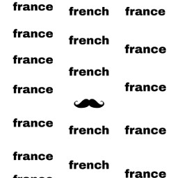 french france moustache freetoedit