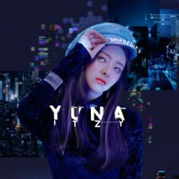yuna yunaitzy yunaedit itzyyuna itzy kpop technology digital blue digitalera dogitaledits yunashin shinyuna notshy wannabe icy itzyshinyuna