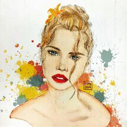 art picture illustration drawing draw çizim sketch artselect dailyart hair blonde freetoedit