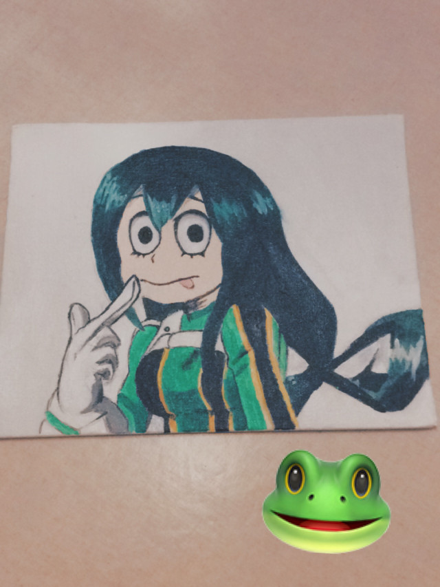 Just painted Tsu🐸💚💚💚 #tsuyuasui