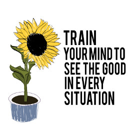 sunflower picsart quote positivity freetoedit