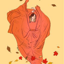 painted paintedversion paintedoutline autumn autumncolors freetoedit