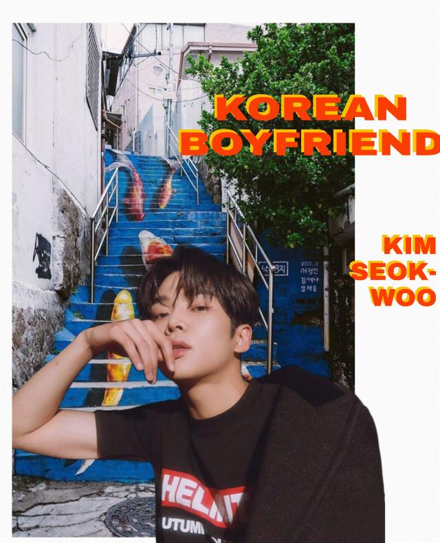 SF9//Rowoon _ Stole this idea off of a brockhampton edit on Pinterest 👉👈 _ #rowoon #sf9 #fantasy #seokwoo #kimseokwoo #kpop #k-pop #cute #boyfriend #korean #asian #magazine #wallpaper #freetoedit
