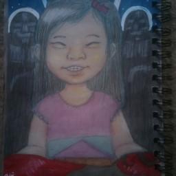 freetoedit drawing art girls sketch superhero