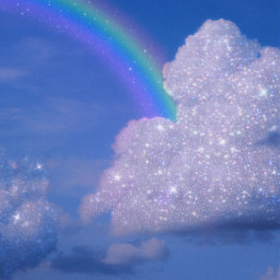 picsart heypicsart makeawesome aesthetic glitter sky glitteraesthetic aesthetics glittery skyaesthetic rainbow vin3 noise curvetool smartblur freetoedit