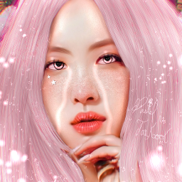 freetoedit picsart editor kpop kpoper blackpink blink rosé pink edit art creative support repost remix remixme remixed