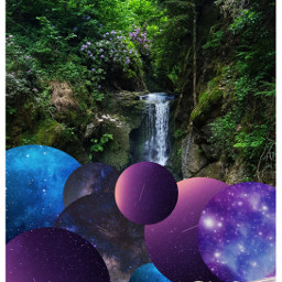 galaxy forest freetoedit