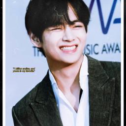 taetae taehyung smiles