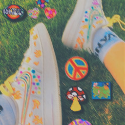 indieaesthetic rainbow shoeslover plzfollowme plzlike