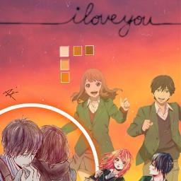 anime manga orange orangemanga orangeanime orange_anime naho nahotakamiya kakeru kakerunaruse freetoedit