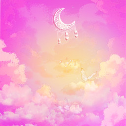 freetoedit picsart sky pinksky clouds pinkclouds background remix remixit