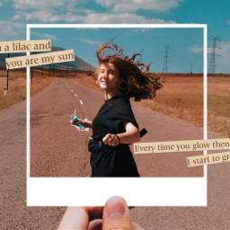 art aesthetic polaroid polaroidframe cute road september heypicsart madewithpicsart makeawesome replay