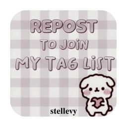 taglist firsttaglist repost