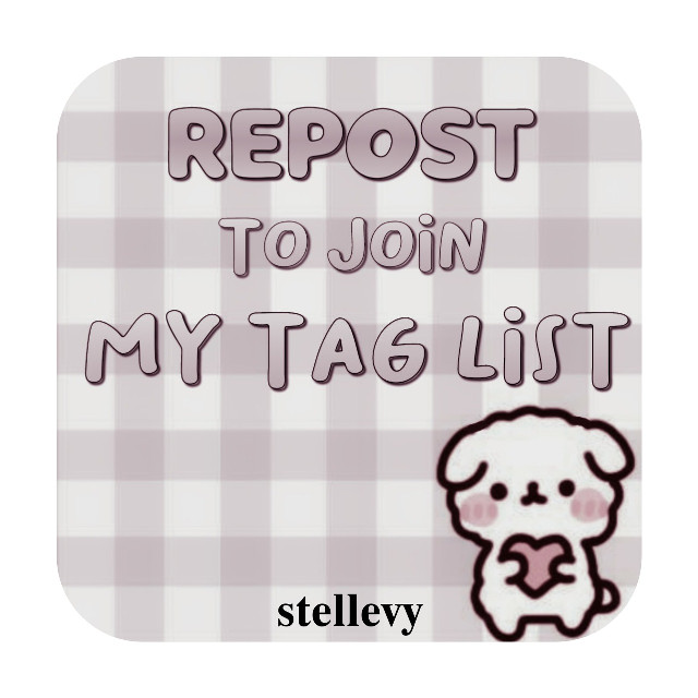 Repost if you want to be in my taglist Firstime taglist..  Thankyou, have a good day!  #taglist #firsttaglist #repost