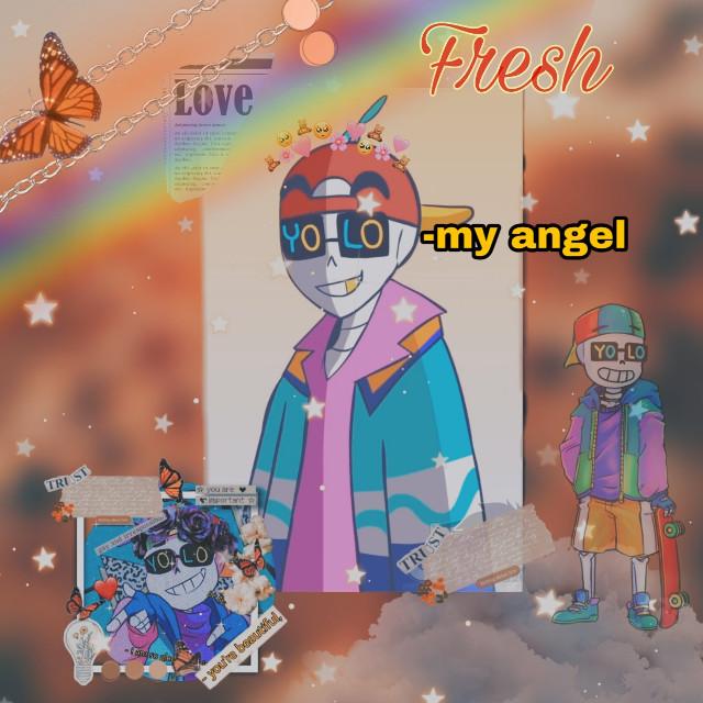 #fresh #underfresh #underfreshsans #sans #skeleton #freshsans #yolo #yolosans #youonlyliveonce #cutie #aesthetic #æsthetic #edit #love #foryou