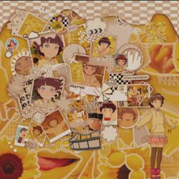 borutonarutonextgenerations himawari narutonextgenerations uzumakiclan anime himawariuzumaki artbyme yellowaesthetic freetoedit