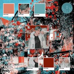 freetoedit notfreetoedit❗  credits yeonjun txt kpop taehyun hueningkai soobin beomgyu choiyeonjun blue red aesthetic pantone blueaesthetic redaesthetic happybirthday notfreetoedit