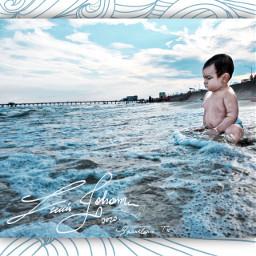 baby beach galveston freetoedit