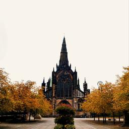 glasgow scotland autumn fall medieval freetoedit