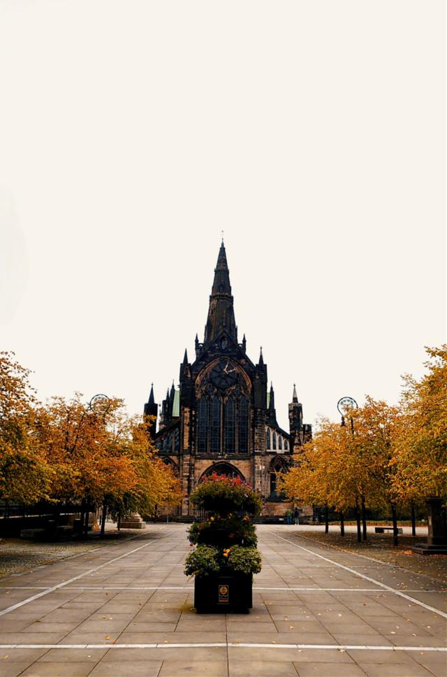 #glasgow #scotland #autumn #fall #medieval