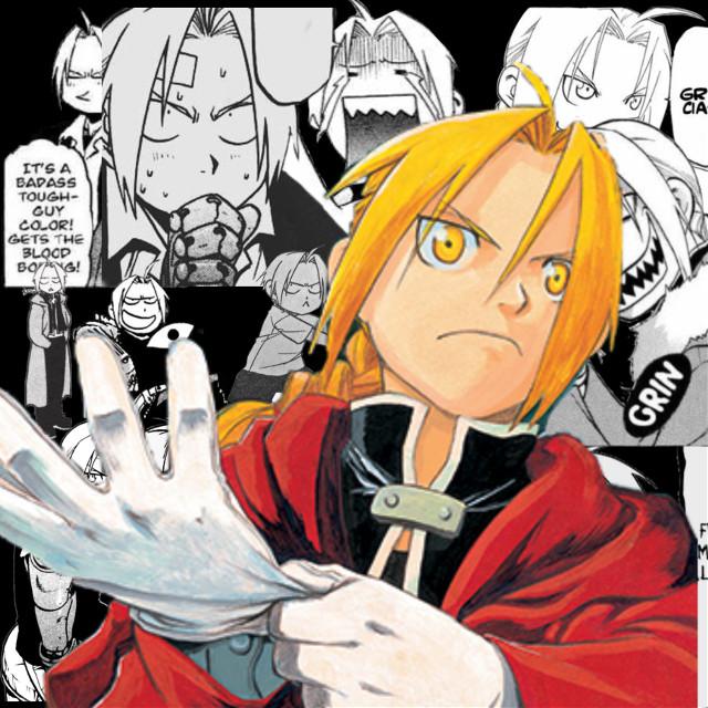 #fullmetal_alchemist #manga #anime