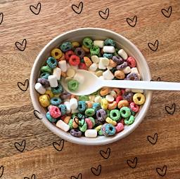cereal doodle doodlehearts challenge breakfeast srcdoodlehearts freetoedit