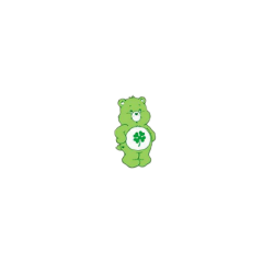 vscogirl bear bears indie indiekid osito green pastel lucky darling cottage cottagecore aesthetic colorful colorpop art kids qsy cute tiny vintage freetoedit