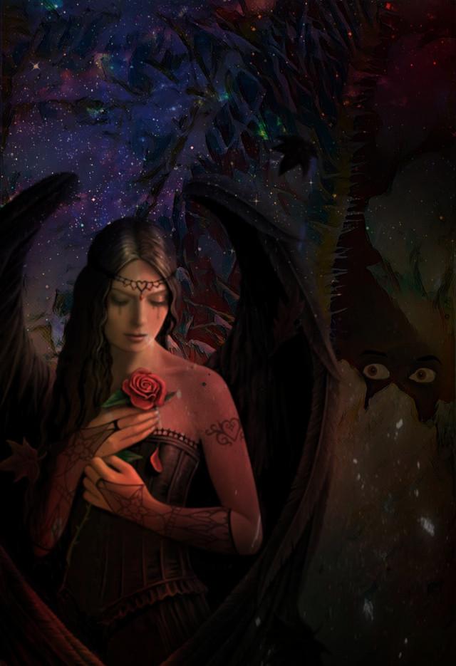 DANKESCHÖN 🙏🧘🏻♀️❣ #darkness #dark #darkart #darkside #darkangel  #phantasie #phantasy #fantasie #fantasy  #magisch #magical #magie  #gefühl #gefühle #gefuehle  #emotion #emotional