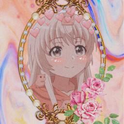 girl anime cute animegirl aeethetic editedbyme brazil japan aestheticedit