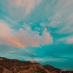 sky clouds view mountains myhome myphotography