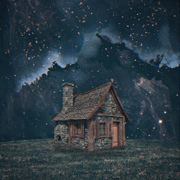 freetoedit house night fields stars alone art prose