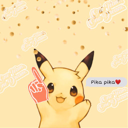 pikachu pikachu❤ pokemon yellowaesthetic freetoedit rcpicsartpremierleague picsartpremierleague