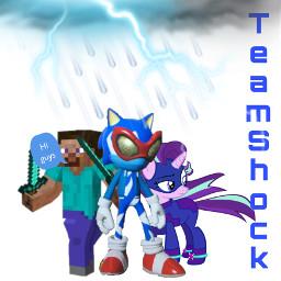 teamshock team shock smg4 steve