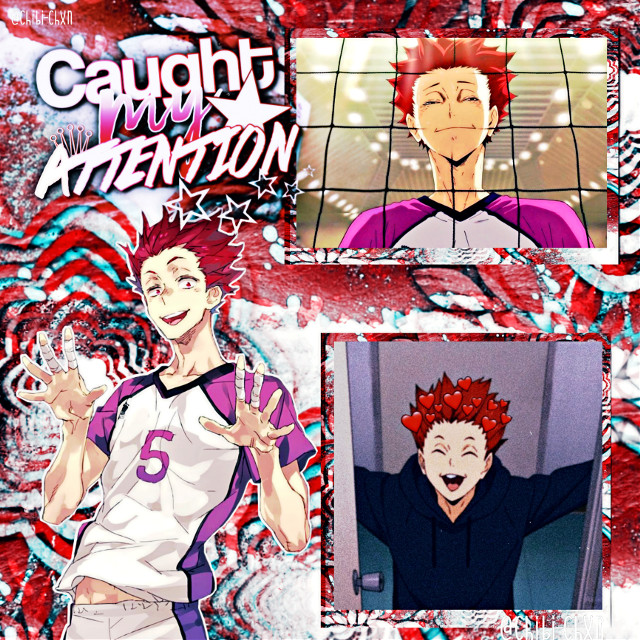❝𝐶𝑎𝑢𝑔ℎ𝑡 𝑚𝑦 𝑎𝑡𝑡𝑒𝑛𝑡𝑖𝑜𝑛❞  here is a tendo edit!! this. this man deserves all of the love and more. love him. or else. :)    TᗩGᔕ: #tendo #tendou #satori #satoritendou #satoritendo #haikyuu #shiratorizawa #guessmonster #tendosatori #tendousatori #tendouedit #red #aesthetic #redaesthetic