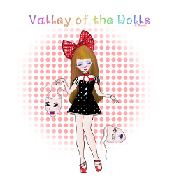 freetoedit paintedversion mydrawing cute sentimental girl doll cutesy mawkish imfine valleyofthedolls delicate polkadots redshoes