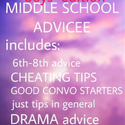 drama advice boys hopeithelps middleschool middleschooladvice freetoedit