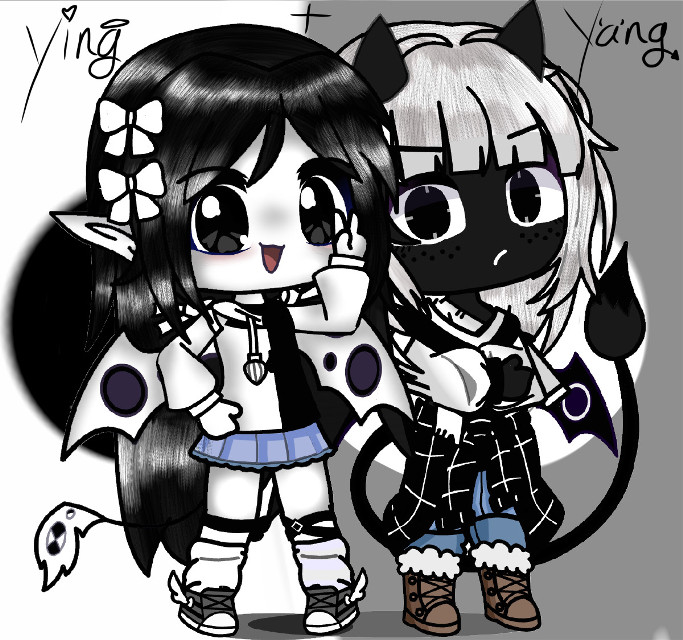 Hai guys! It took me a whole hour to make and edit the oc's OnO Screee me is tired ((Started: 6:11am Ended: 7:17am)) eeeeee-   AnYwAyS  This is ying and yang and im rly proud of this aaaaa-   This should be a trend OnO Someone please make an edit of ying and yang and tag me, this needs to catch on >:,3  Im so proud of this tho eee-   Djemkwjfndkwhdbjtjfnckkajsnfhjdndnfjcjcnjdhdbcj  ✨🌸✨🌸✨🌸✨🌸✨🌸✨ #yingandyang  #whydoihavetoaddahashtag