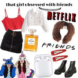 friends netflix freetoedit